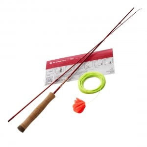 Redington Form Flyfishing Game & Practice Rod w/ Line