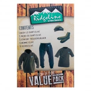 Ridgeline Top To Toe Value Pack 3XL (Reverse Auction)