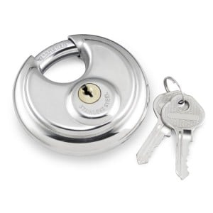 Round Security Padlock