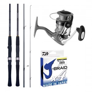 Daiwa RZ / RX Spin Combo With J-Braid