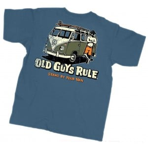 Old Guys Rule Stand By Your Van Tee