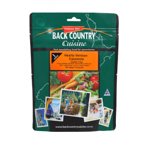 Back Country Hearty Venison Casserole
