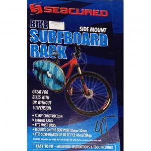 Seacured Bike Surfboard Rack-Side Mount