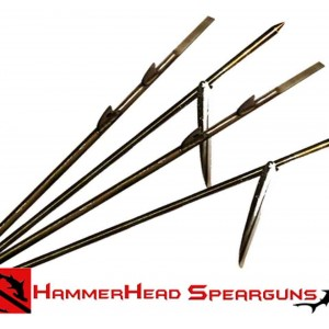Hammerhead Shark Fin Shaft SS Threaded US Cut 5/16in