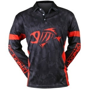 G.Loomis Black Camo Sublimated L/S Shirt