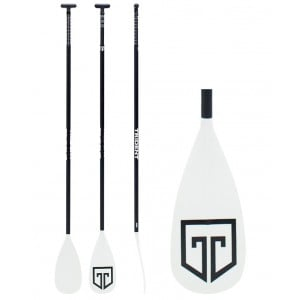 Trident T6 Fiberglass Adjustable Lever Lock Paddle