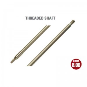 Cressi Inox Threaded Shaft 8.0x365mm Saetta/Star 40