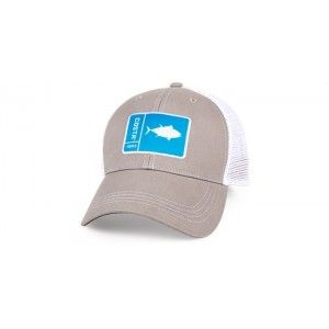 Costa Patch Cap - Tuna Gray/White