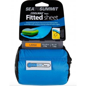 Sea To Summit Coolmax Fitted Sheet Regular