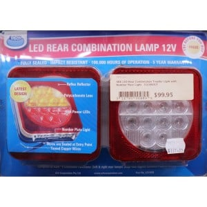 ARK LED Rear Combination Trailer Lights 12v