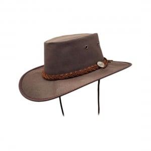 Barmah Drover Oilskin Hat