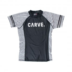 Carve All Sorts Ladies Short Sleeve Rash Shirt