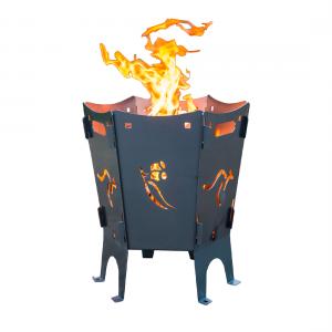 Bennetts Steel Easy Burn Flatpack Firepit
