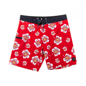 Carve Mens Hibiscus Bliss Boardshorts