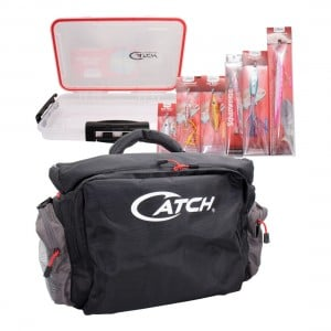 Catch Pro Tackle Bag With Bonus Lure Pack