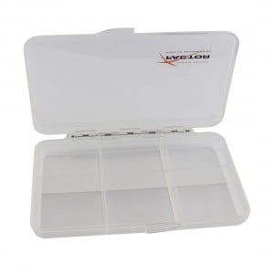 X-Factor Clear Compartment Dry Fly Box
