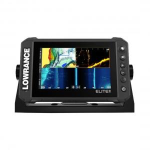 Lowrance Elite 7 FS - Active Imaging Transducer + Preloaded C-Map