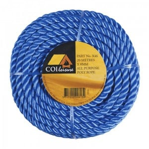 Coi Leisure PE Rope Roll 6mm x 50m