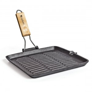 Campfire 28cm Grill Folding Frypan
