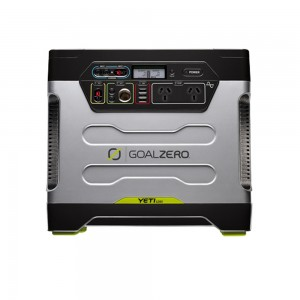 Goal Zero Yeti 1250 Solar Generator includes Roll Cart