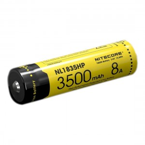 Nitecore NL1835HP 3500mAh 18650 LI-ION Battery