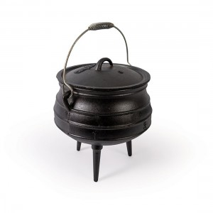 Campfire 8L Cast Iron Potjie Pot