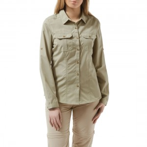 Craghoppers NosiDefence Womens Adventure Long Sleeve Shirt