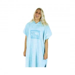 Carve Super Roasty Girls Towelling Poncho