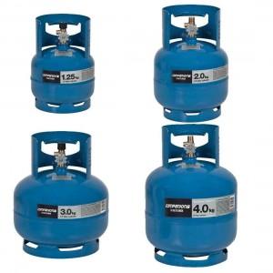 Companion 3/8 LH Gas Cylinder