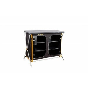 Oztrail 3 Shelf Double Deluxe Cupboard