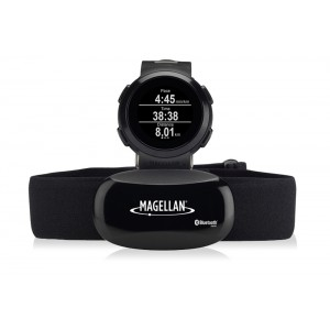 Magellan Echo Black Watch - Bluetooth / Heart Rate Monitor