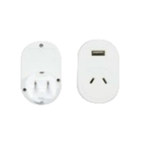 OSA Brands Japan Travel Adaptor w/ USB