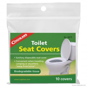 Coghlans Toilet Seat Covers - 10 pack