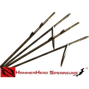 Hammerhead Shaft Euro Twin Shark Fin Threaded 8mm x 150cm