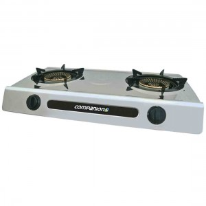 Companion Double Burner Wok Cooker