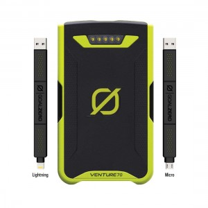 Goal Zero Venture 70 Portable Recharger (w/ Lightning/iPhone & Micro USB)