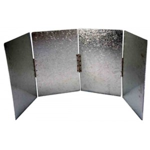 Hillbilly Camping Wind Shield for Camp Oven or Gas Stove
