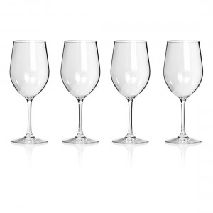 Everclear Tritan Wine Glass 4pk