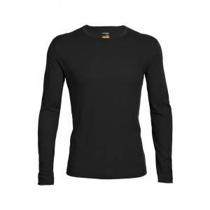 Icebreaker Mens Oasis Long Sleeve Crewe 200Gsm