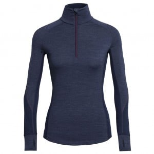 Icebreaker Womens Winter Zone L/S Half Zip Top