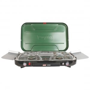 Coleman Stove Eventemp w/ Griddle & Grease Cup