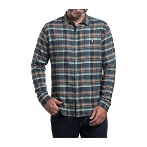 KUHL Mens Fugitive Long Sleeve Flannel Shirt