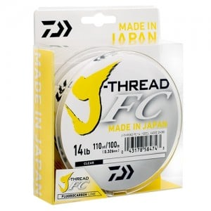 Daiwa J-Thread Fluoro Leader - 100m