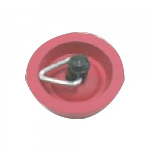 Coast To Coast Red Rubber Sink Plug 25mm