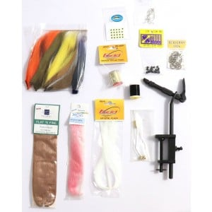 EJ Todd Saltwater Fly Tying Kit