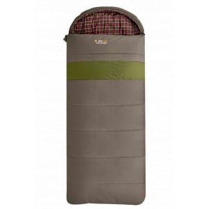 Oztrail Cotton Canvas Hooded Sleeping Bag