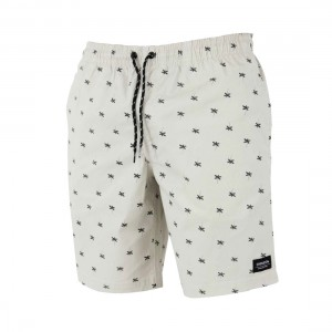 Carve Saturn Palms Mens Elastic Waist Volley Shorts