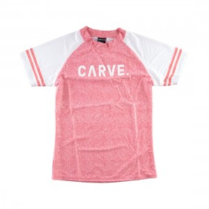 Carve Rose Blush Ladies Short Sleeve Rash Shirt