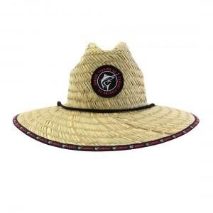 Samaki Womens Marlin Patch Straw Hat