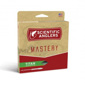 Scientific Anglers Mastery Textured Titan Taper WF10F Mist Green / Orange Fly Line (Reverse Auction)